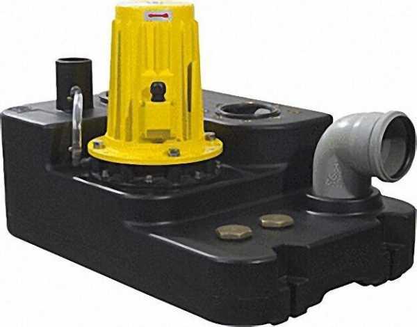 ZEHNDER Abwasser-Hebeanlage Typ Boy Doppel, 3,0, 400 V inklusive Rückschlagklappe und HosenStück
