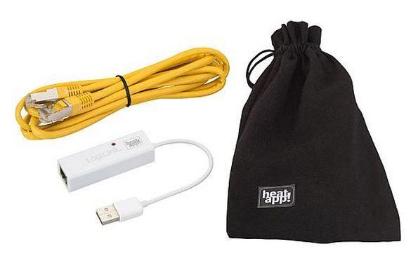 EBV 9600915000 heatapp! Installationskit 1xLAN-USB-Adapter, Patchkabel, Transportbeutel