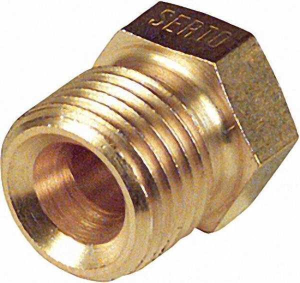 SERTO - Einschraubstutzen SOES 8mm x 1/4'' SO1001 8x1/4'' ohne Klemmring!