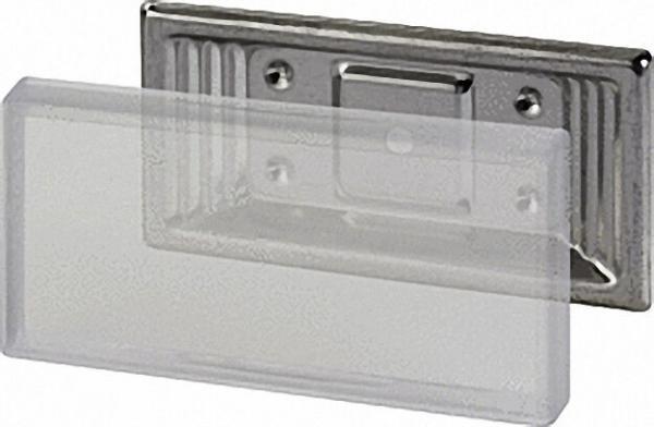 Schraubhalter Edelstahl (V2A) VPE 25 Stück