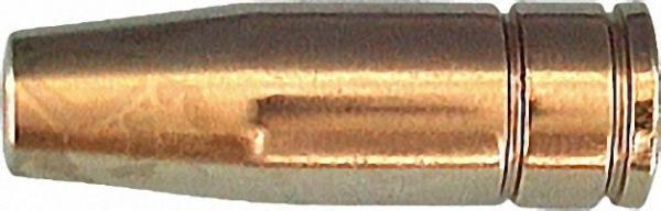 Gasdüse für Brennerschaft 12mm konisch, 9,5mm