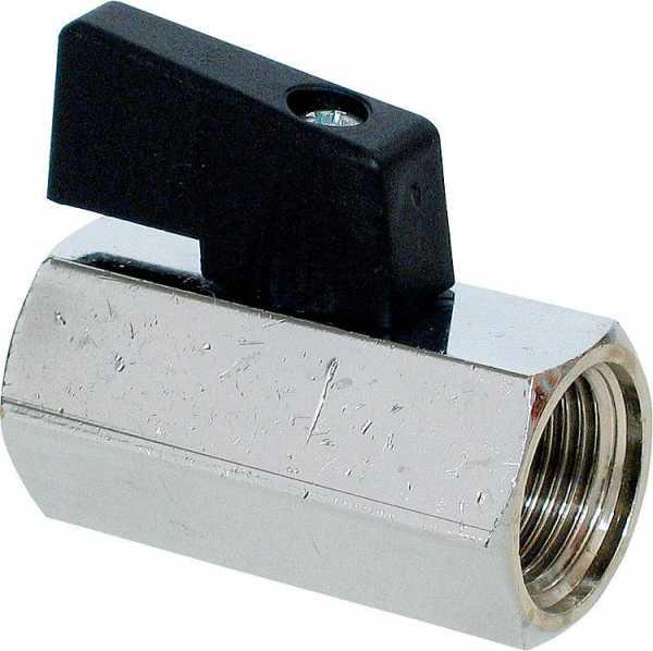 Minikugelhahn IG/IG 3/4'' mit Nylonhebel