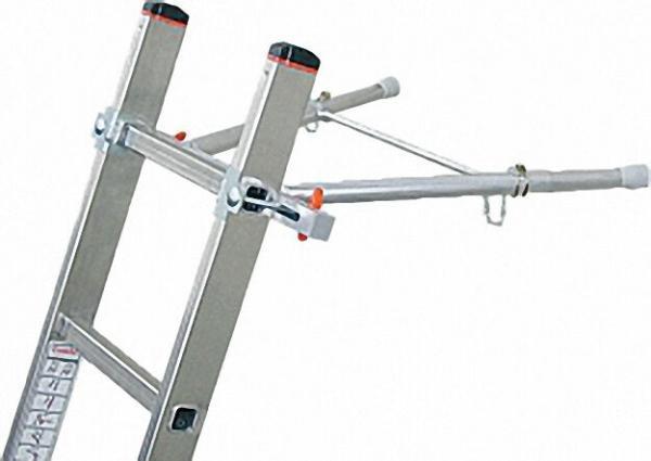 Abstandhalter bis max. 600mm für Holmquerschnitte 64x25mm bis 97x25mm