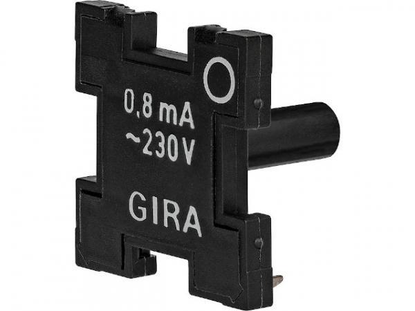 Glimmeinsatz Gira 099600 0,8mA