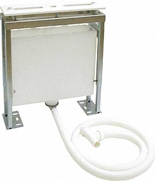 KLUDI Montageblock mit Wasserauffangbehälter Anschluss an Sifon