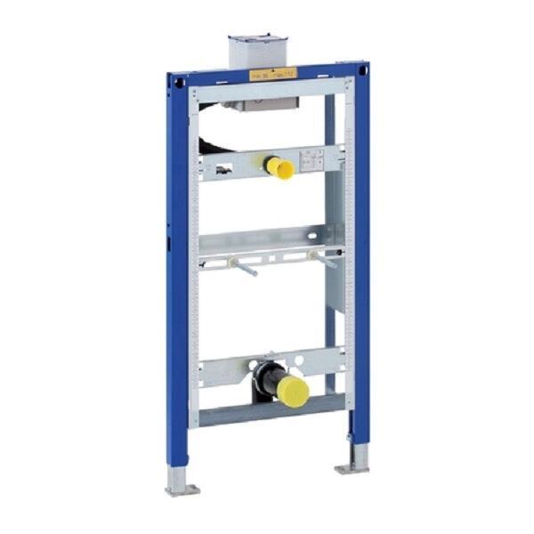 GEBERIT 111617001 DUOFIX Montageelement für Urinal Universal, Bauhöhe 98 cm, Betätigung von oben