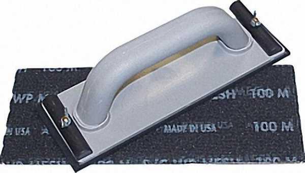 Handschleifer-Set 5tlg. Schleifer mit 4 Schleifgittern