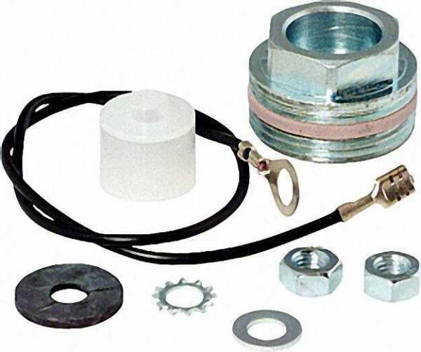 Montageset für Magnesiumanoden mit 8mm Gewinde 1''Muffenmontage