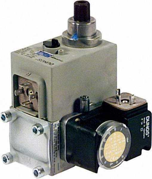 Gas-Multi-Bloc einstufig MB-DLE 403 B 01 S 50 ohne Gewindeflansche Rp 3/8''