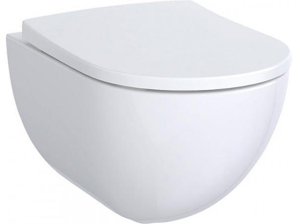 Wandtiefspül-WC Keramag Acanto weiß, spülrandlos BxTxH 350x540x335mm