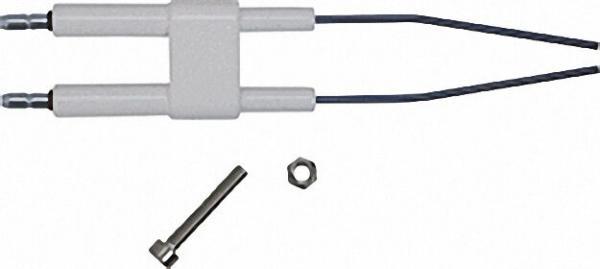 Doppelzündelektrode passend für Giersch GB100. 30-50 inklusive Befestigungssatz