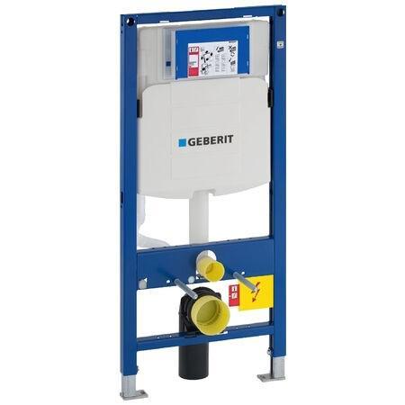 GEBERIT 111300005 DUOFIX Montageelement für Wand-WC, mit UP-Spülkasten UP320, 112 cm