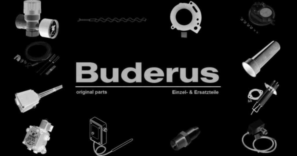 Buderus 67902813 Sanitäranschlussrohr G1/2 Warmwasser