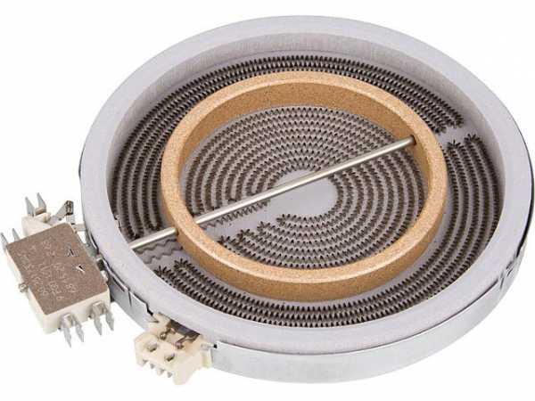 HiLight-Heizkörper Zweikreis 1800/700W-230V, d=180/120mm