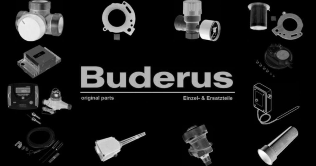 Buderus 63013489 Rohrbogen Cu1 zum Rückflußbehälter