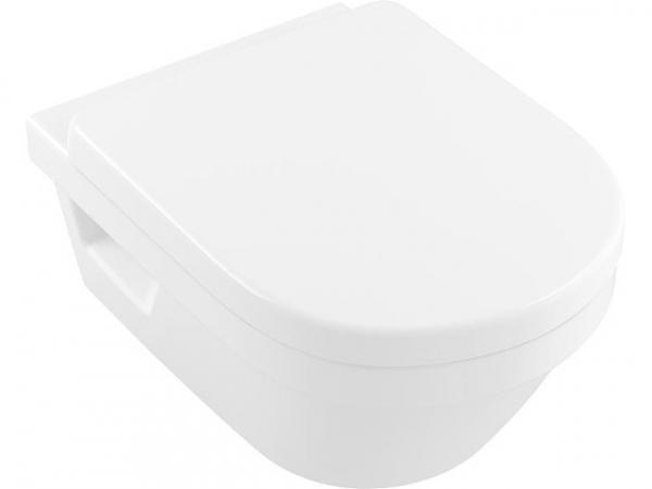 Wand-Tiefspül-WC Architectura XL spülrandlos, weiß Alpin, BxHxT 410x340x580mm