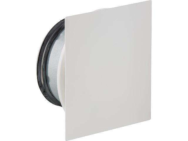 Tellerventil NW 125 Airy SQUA für Zu- und Abluft Metall weiß