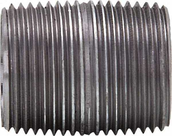 Rohrdoppelnippel, verzinkt 3/8'', 40mm AG/AG