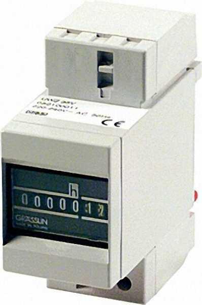 GRÄSSLIN Betriebsstundenzähler Taxxo 403 für DIN-Schienenmontage (UWZ 35 V)