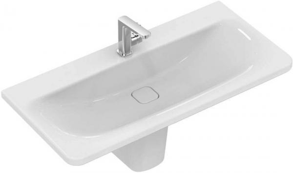 IDEAL STANDARD K087201 Tonic II Waschtisch 100 x 49 cm, weiß, ohne Überlauf