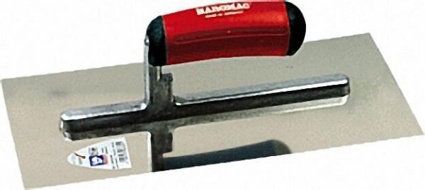 Glättekelle 280mm Stahl, 2K-ERGO rotschwarz