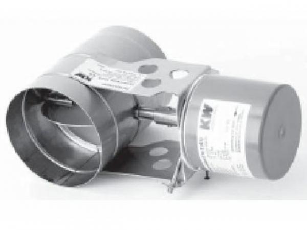 WOLF 2484071 Abgasklappe dichtschließend D150motorbetrieben(nicht für NG-2P verwendbar)