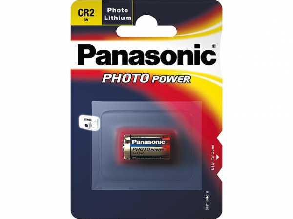 PANASONIC Fotobatterie Lithium CR-2 3V Dm 15, 6x27mm