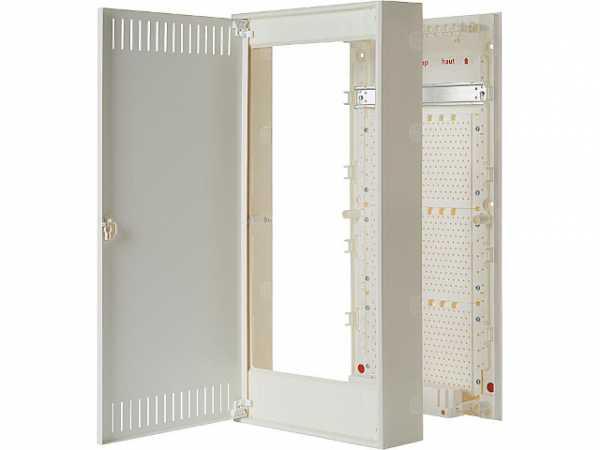Multimediaverteiler Siemens, Simbox XL, AP, 4-reihig, 8GB5048-3KM00