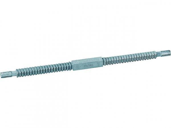 GEDORE Gewindefeile Länge 230mm für Gewinde Stück 24-10 Gänge Art. Nr. 140 W