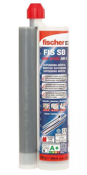 FISCHER Superbond-System Mörtel FSB FIS SB HIGH SPEED 390 S
