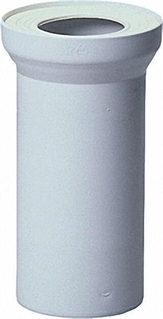 WC-Anschlussstutzen DN100/400mm weiß