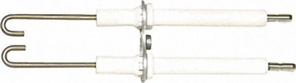 Doppelzündelektrode für Buderus Raketenbrenner BE/BE-A 17-34 kW / Typ 4 L34 / 63018295