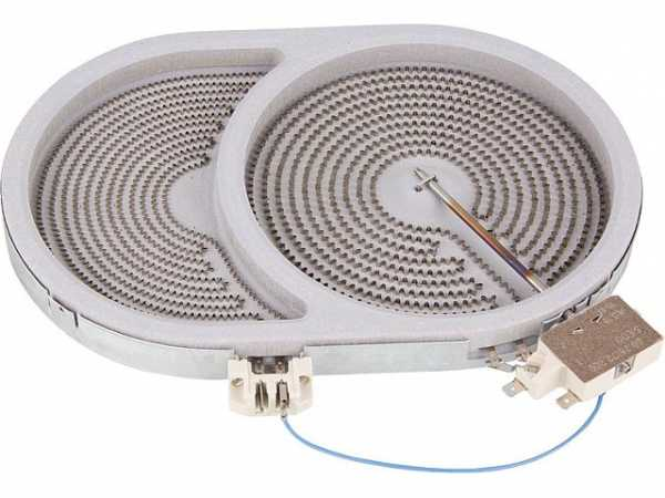 HiLight-Heizkörper Braeter/oval 2400/900W-230V, d=170/265mm
