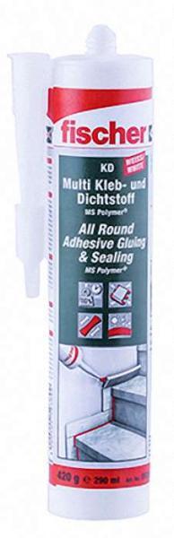 FISCHER Multi Kleb- und Dichtstoff KD-290 weiß VPE 1 Stück