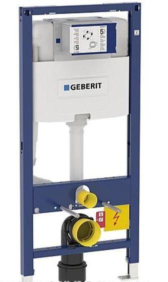 GEBERIT Duofix Element für Wand-WC 112cm mit Omega UP-SPK 12cm Bet. vorne/oben