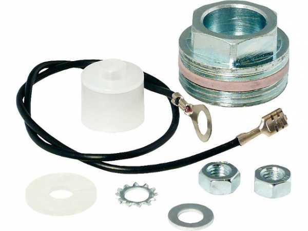 Montageset für Magnesiumanoden mit 8mm Gewinde 1 1/4''Muffenmontage