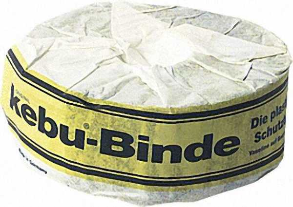 KEBU - Binden ''Standard'' braun Rolle: Breite 50mm Länge 10 m