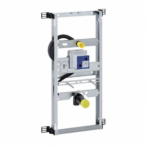 GEBERIT 457689001 KOMBIFIX Montageelement für Urinal Bauhöhe 112 - 130 cm für verdeckte Urinalsteuer