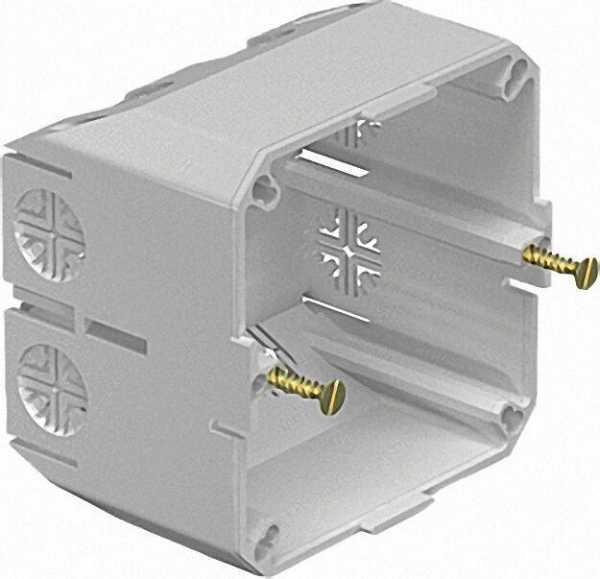 Gerätedose lichtgrau Typ 2390 / 1 Stück