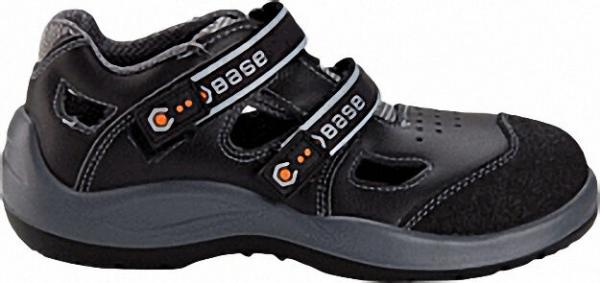 Sandale mit Alukappe Größe 42