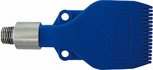 Sicherheits Flachstrahldüse breit 16 Loch M12 x 1, 25 mit Adapter