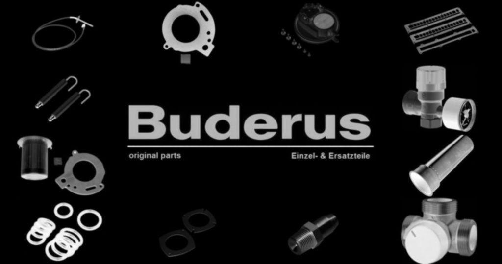 Buderus 7098522 Dachdurchführung DN60/100DO konz sw isol