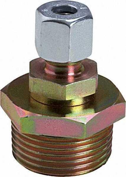 Stopfbuchs-Verschraubung 1-Loch Stahl, 1'' x RVS 8mm