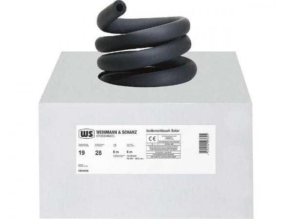 Hochtemperatur-Solarisolierung 15 mm, Dämmdicke 19 mm ,1 Karton 14 m endlos