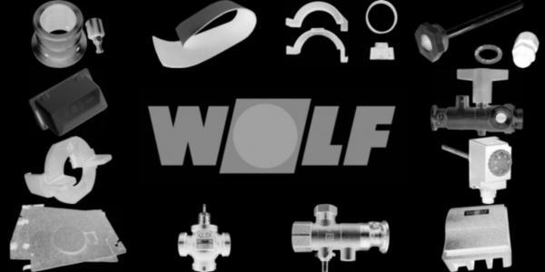 WOLF 2576224 PVC-Rohr-Set für Wanddurchführung (2x)