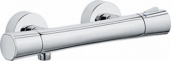 KLUDI Zenta Thermostat-Brausearmatur eigensicher Chrom