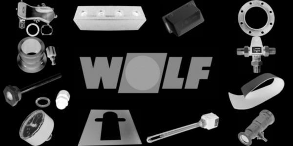 WOLF 207129399 Verrohrung 3 WUV - Schlauch kurz D28(ersetzt Art.-Nr. 2071293)