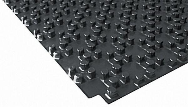Noppenplatte EPS 30-2mm WLG 040, VPE 10 m² LxB 1000 x 1000mm