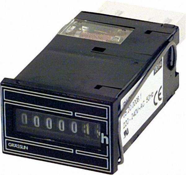 GRÄSSLIN Betriebsstundenzähler Taxxo 612 (FWZ 36 K)