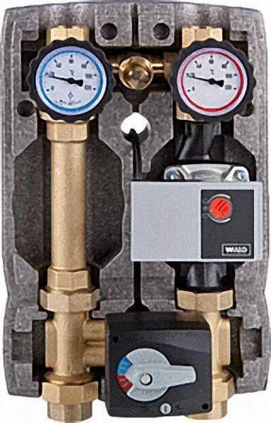 EVENES Heizkreisset Easyflow DN25 mit Überströmventil, 4-Wege-Mischer, Stellmotor, Yonos Para RS25/6
